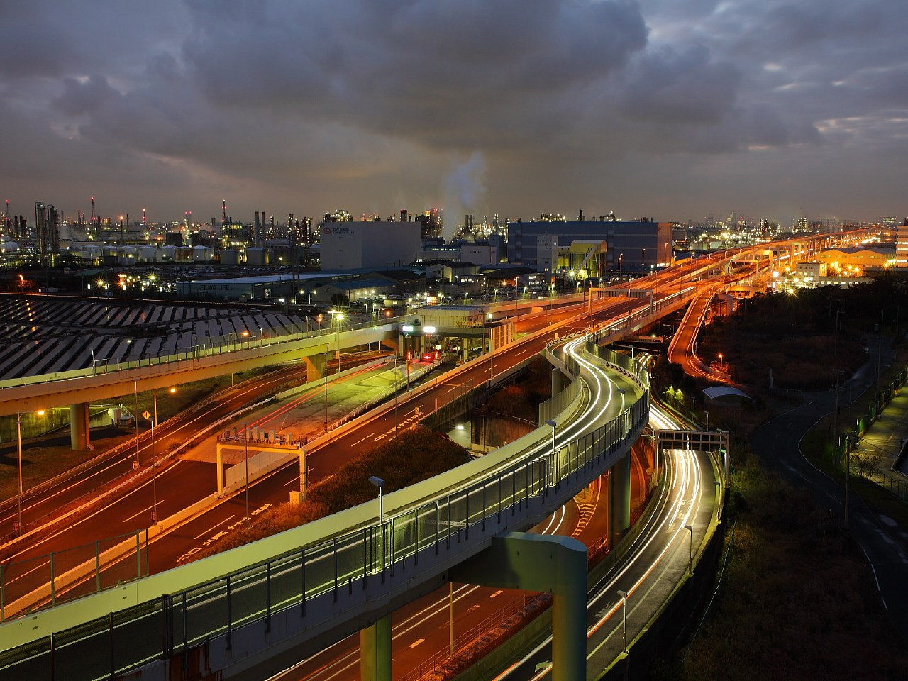 首都高速道路の写真5 川崎浮島ジ...
